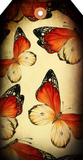 Watercolor Butterfly Tag