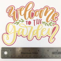 Welcome To The Garden Layered Die Cut