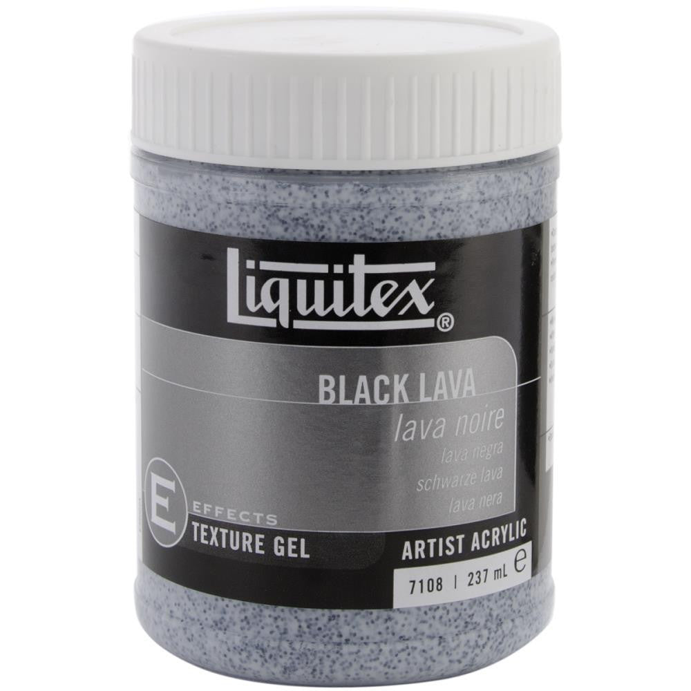Black Lava Acrylic Gel