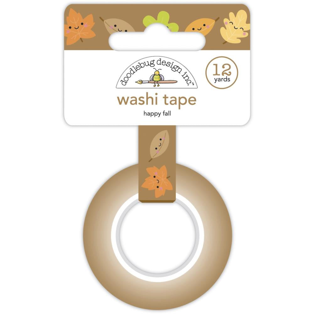 Pumpkin Spice Happy Fall Washi Tape