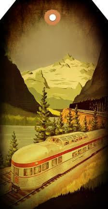 Mountain Train Tag