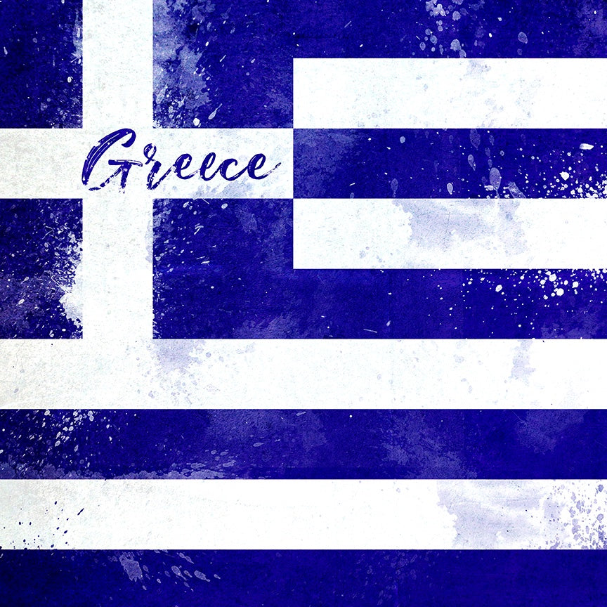 Greece Flag Paper