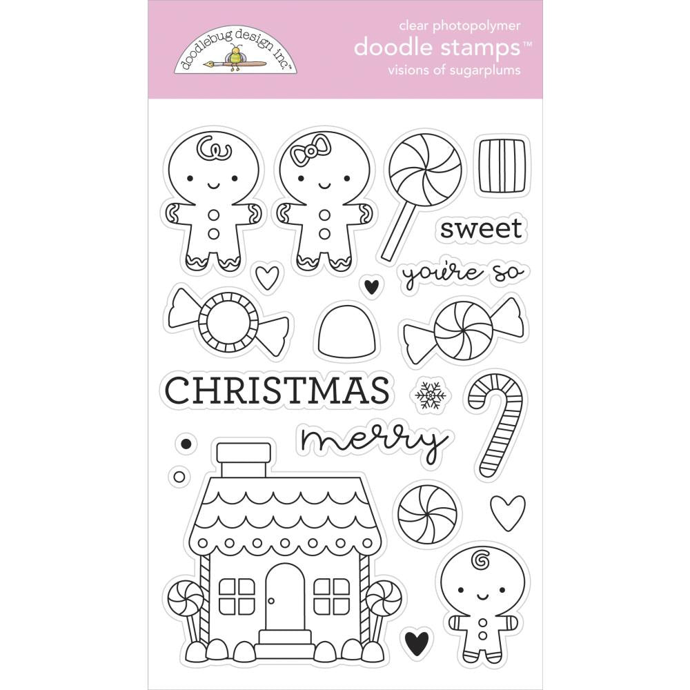 Night Before Christmas Visions of Sugarplums Stamp Set