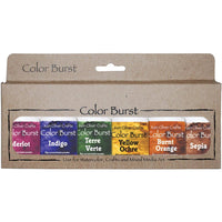 Earth Tones Color Burst Powders
