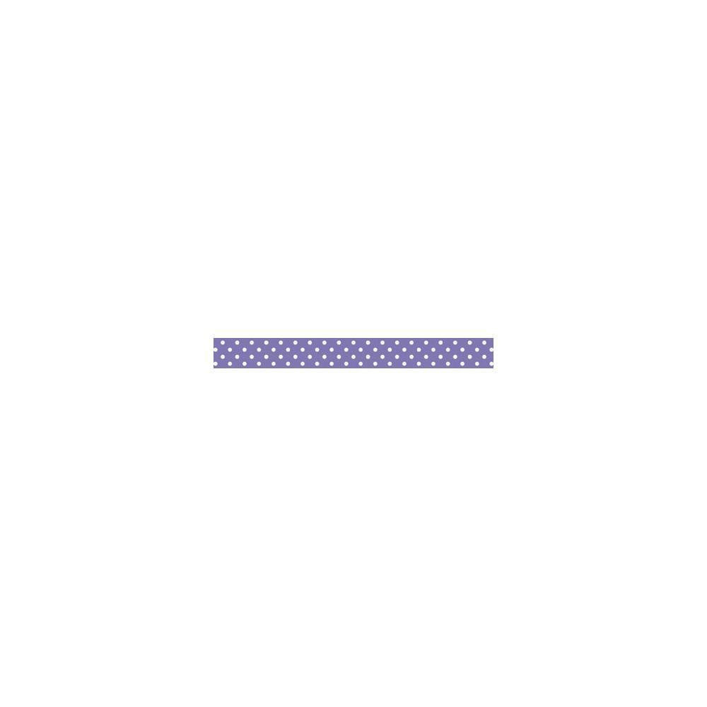 Lilac Swiss Dot Washi Tape