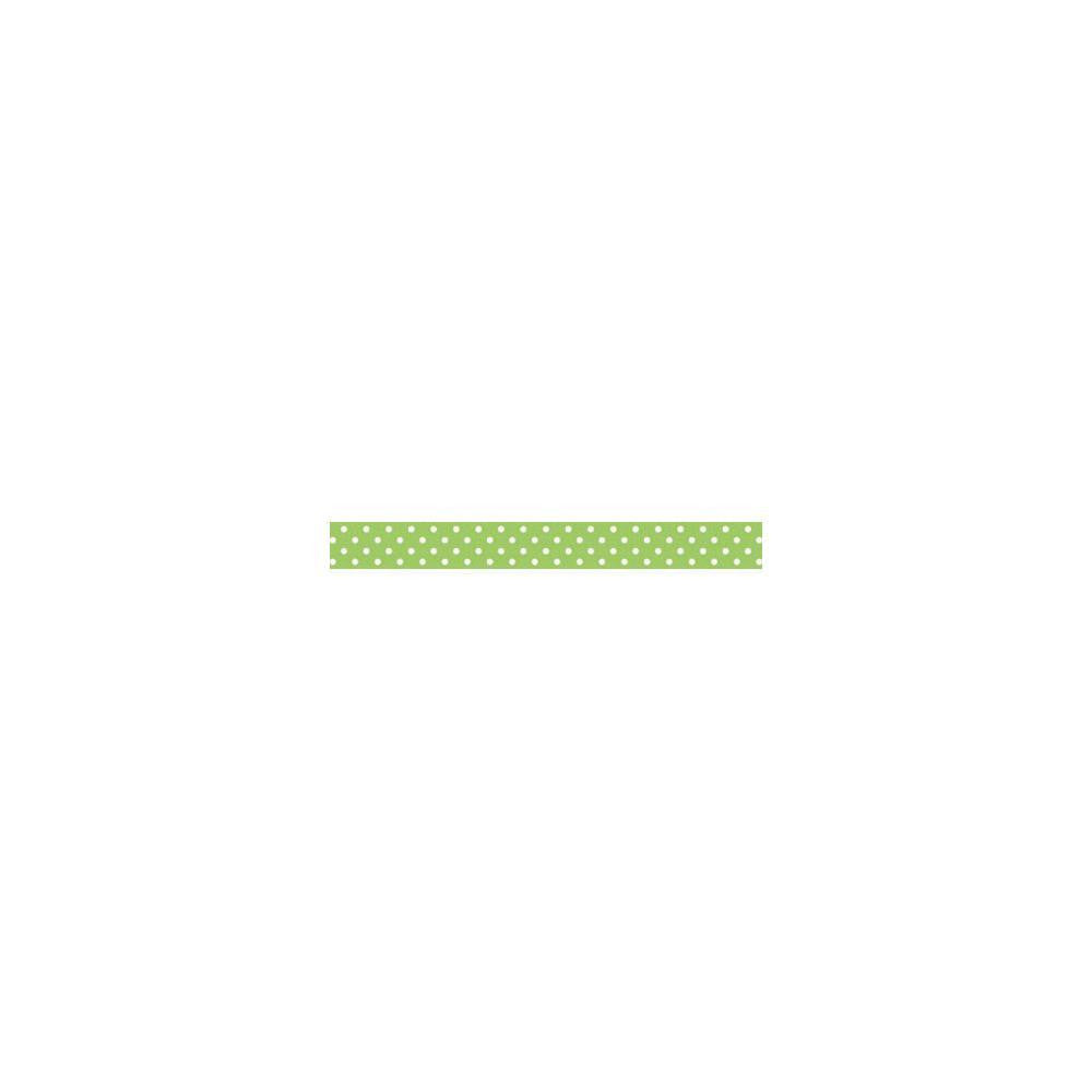 Limeade Swiss Dot Washi Tape