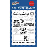 Our Travel Adventure World Explorer 4x6 Stamp Set