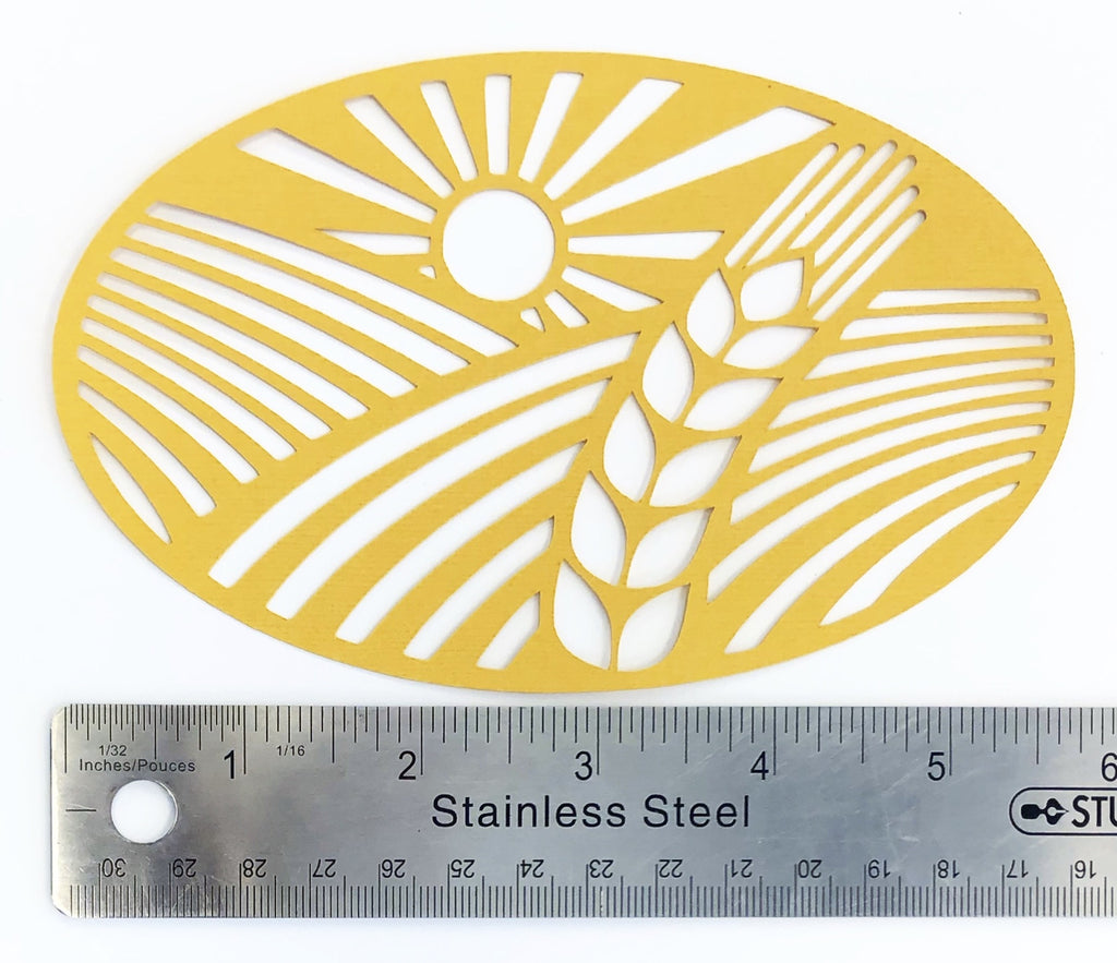Wheat Field Die Cut
