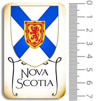 Nova Scotia Crest Chipboard