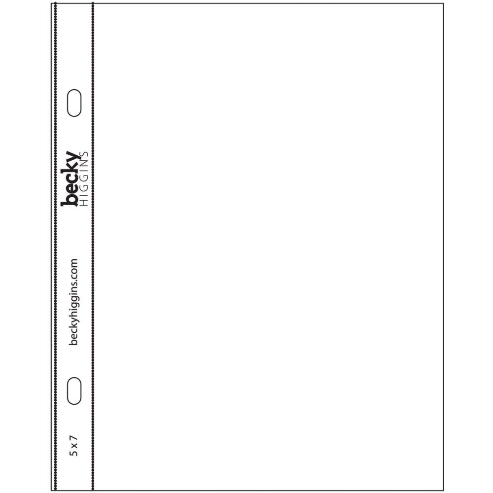 5x7 Vertical Page Protector