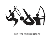 Olympic Icons #2 Chipboard