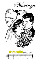 Mariage A7 Cling Stamp