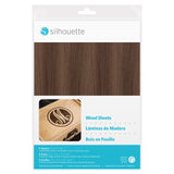 Silhouette Adhesive Wood Sheets