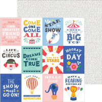 Big Top Dreams Big Top Quotes 12x12 Paper