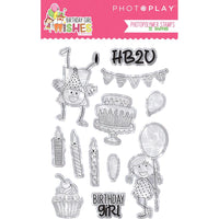 Birthday Girl Wishes Photopolymer Stamp