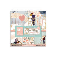 Love Story 8x8 Paper Pad.