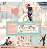 Love Story 12x12 Paper Pad.