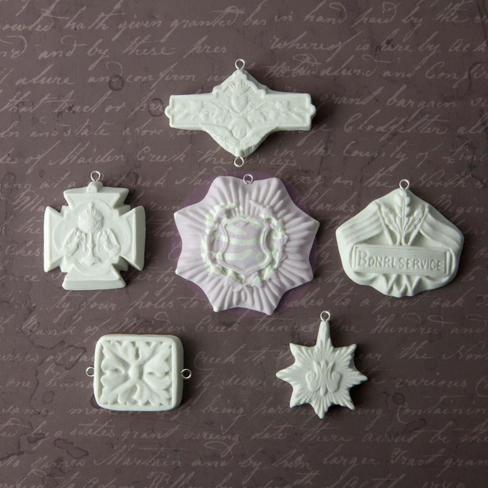 Relics and Artifacts Medallions Archival Cast Resin