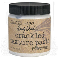 Crackled Texture Embossing Paste