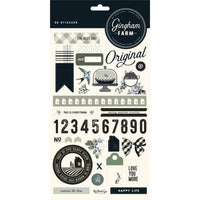 Gingham Farm Stickers