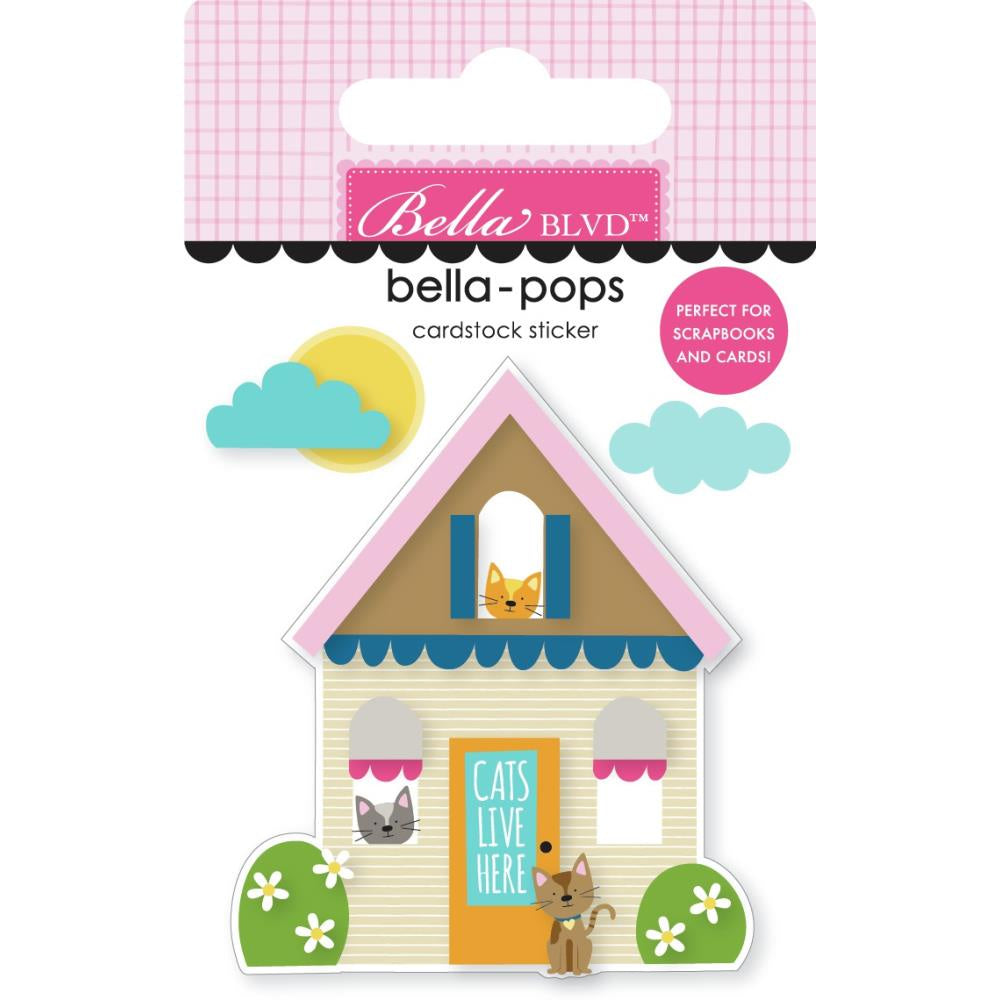 Chloe Cat House Bella-Pop
