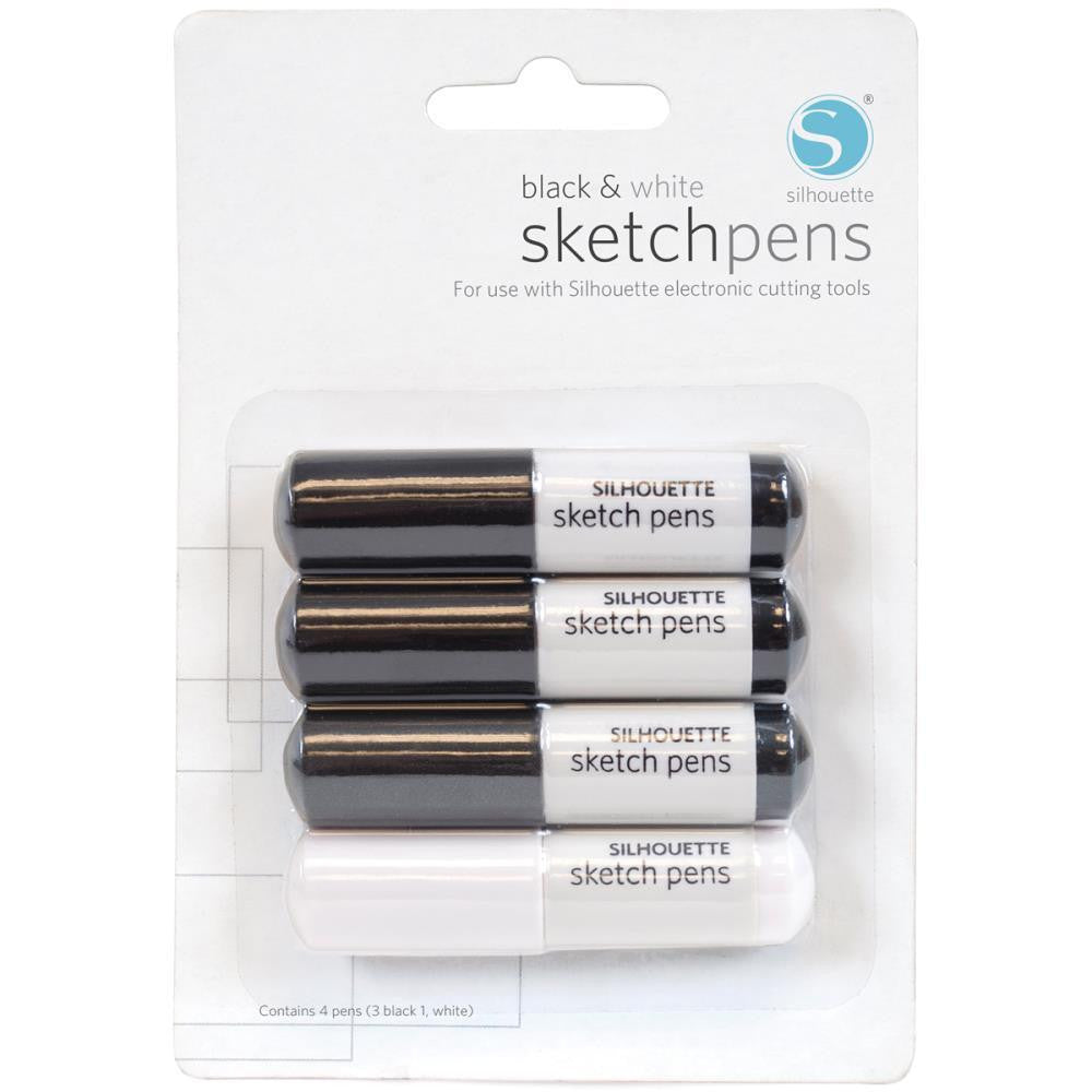 Black & White Sketch Pens