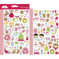 Night Before Christmas Mini Icons Stickers
