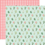 Flower Garden Beautiful Day Floral Paper