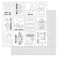 Dog Lover Color Me Dog Lover Paper