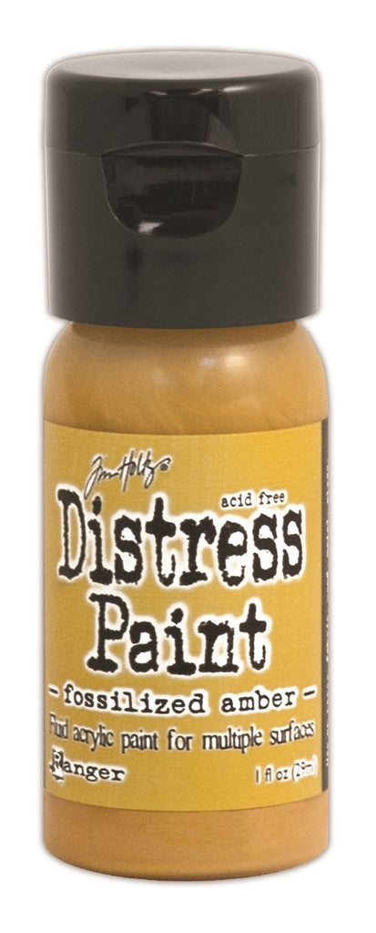Fossilized Amber Flip Top Distress Paint