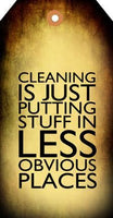 Cleaning Stuff Tag