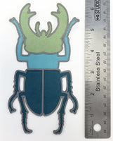 Beetle Layered Die Cut