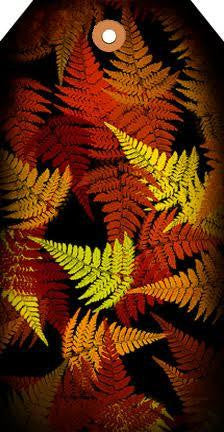 Autumn Ferns Tag
