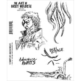 Brett Weldele Ship Captain Stamp Set
