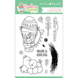 Baskets Of Bunnies Stamp Set