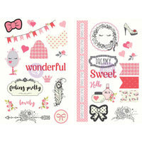 Julie Nutting Chipboard Stickers
