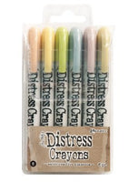 Distress Crayon Set 8