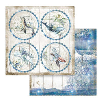 Romantic Sea Dream Rounds Paper