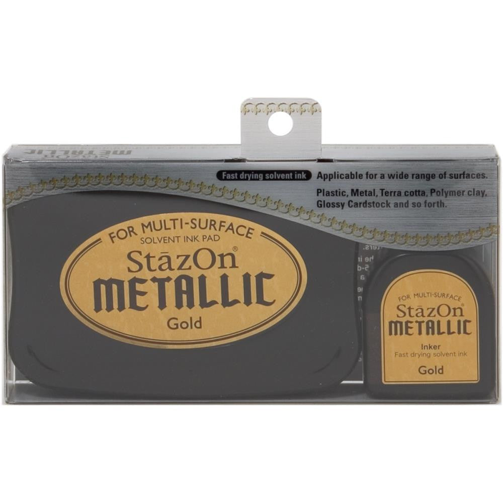 StazOn Metallic Gold Ink