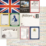 United Kingdom Journal 12x12 Paper