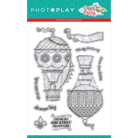 Dragon Dreams Up & Away Stamp Set