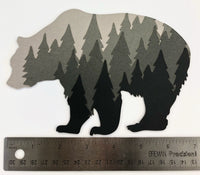 Bear Forest Layered Die Cut