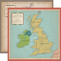 Cartography No. 1 Great Britain Map Paper