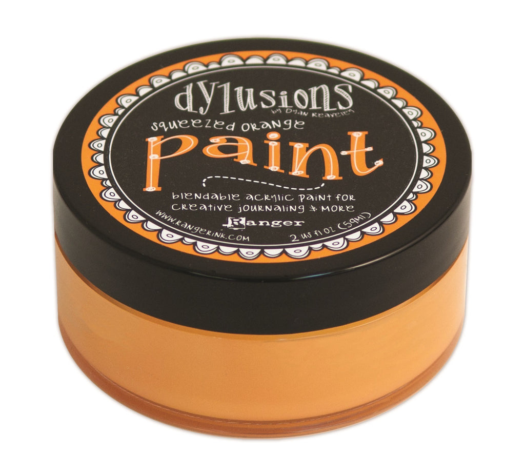 Squeezed Orange Dylusions Paint