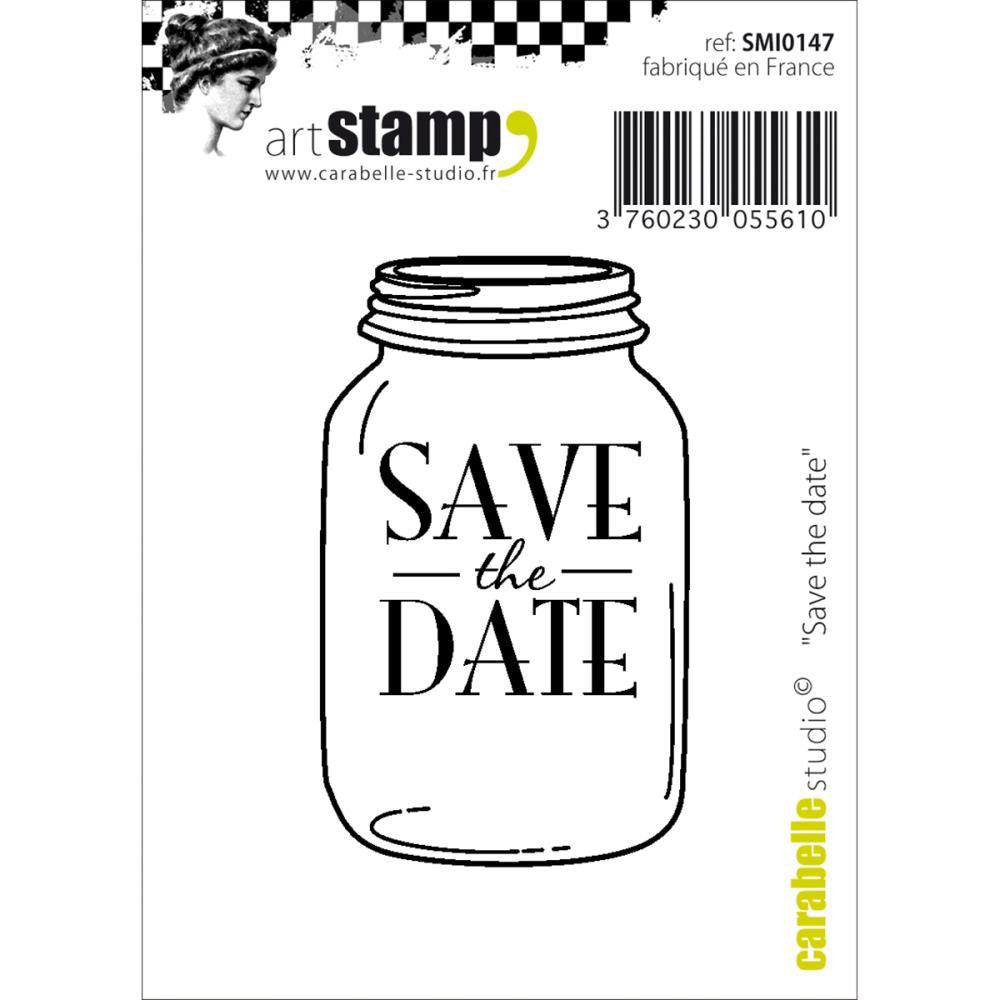 Save the date Small Cling Stamp