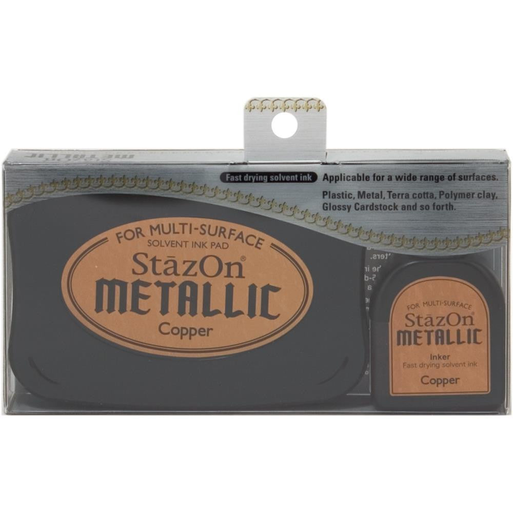 StazOn Metallic Copper Ink
