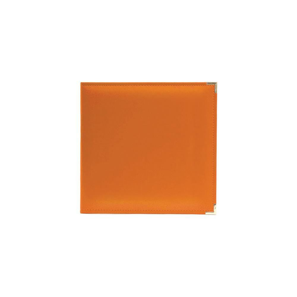 Orange Soda 12x12 Classic Leather D-Ring Album