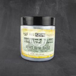 Finnabair Antique Silver Crackle Texture Paste