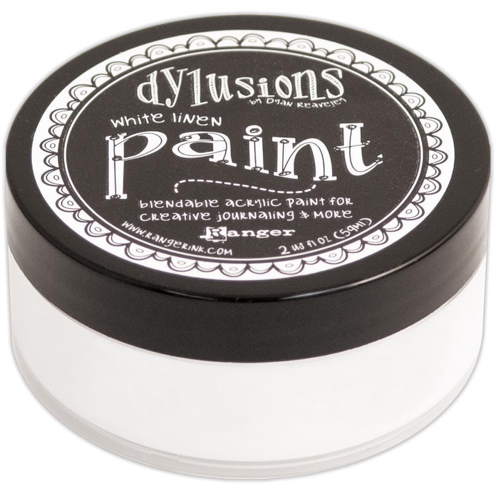White Linen Dylusions Paint