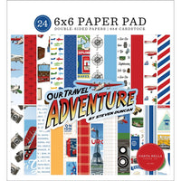 Our Travel Adventure 6x6 Paper Pad